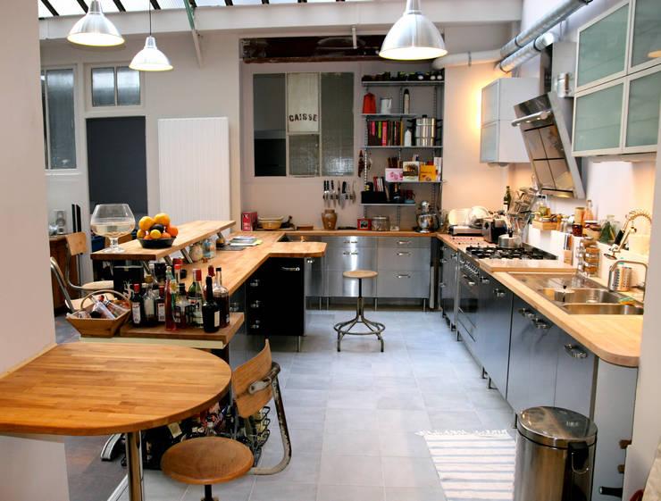 Cocinas de estilo  por Cabinet Dario
