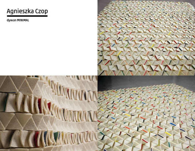Parede e piso  por Agnieszka Czop