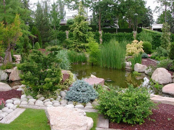 La ermita de Pozuelo의  정원