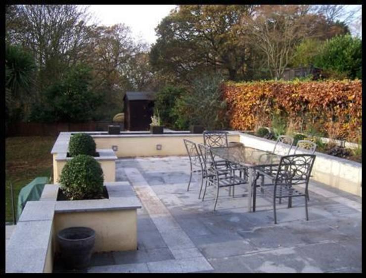 Granite paving:   by Westacott Gardens