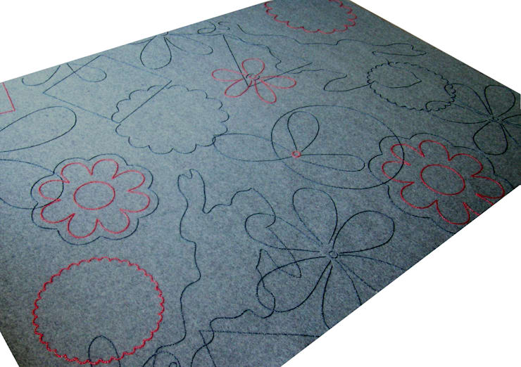 Walls & flooring by Agnieszka Czop,