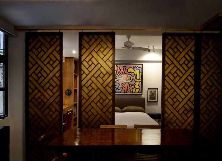 Recámaras de estilo asiático por Stefano Tordiglione Design Ltd