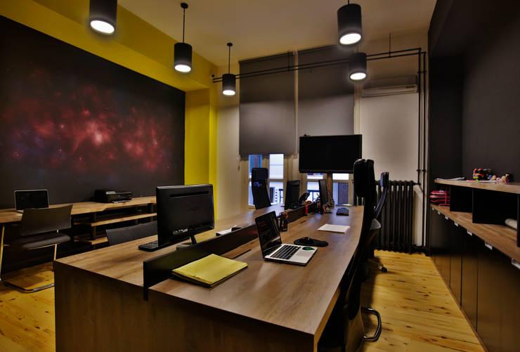 NM Mimarlık Danışmanlık İnşaat Turizm San. ve Dış Tic. Ltd. Şti. – DWARF PLANET OFFICE:  tarz Ofis Alanları