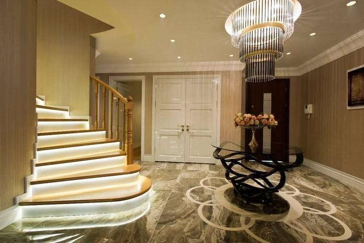 Corridor & hallway by BABA MİMARLIK MÜHENDİSLİK