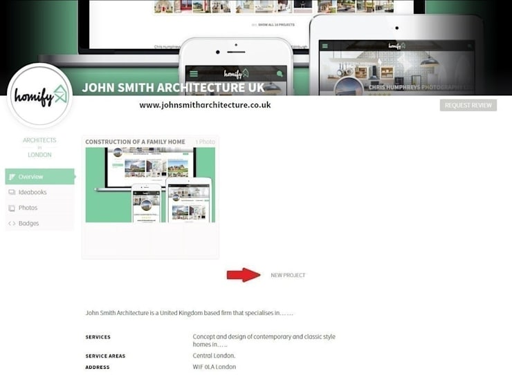 How do I create my first project?:   by homify hong kong,