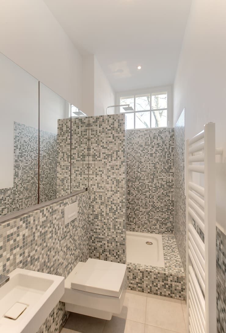 Haus Kaiser:  Badezimmer von 28 Grad Architektur GmbH,