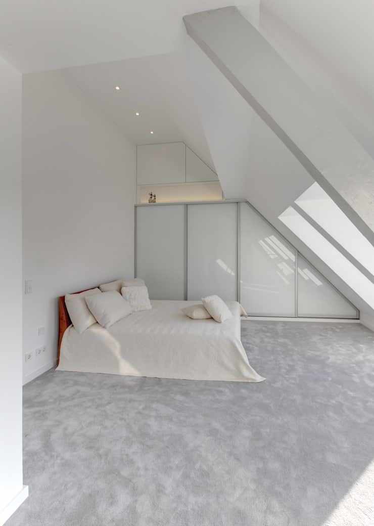Haus Kaiser:  Schlafzimmer von 28 Grad Architektur GmbH,