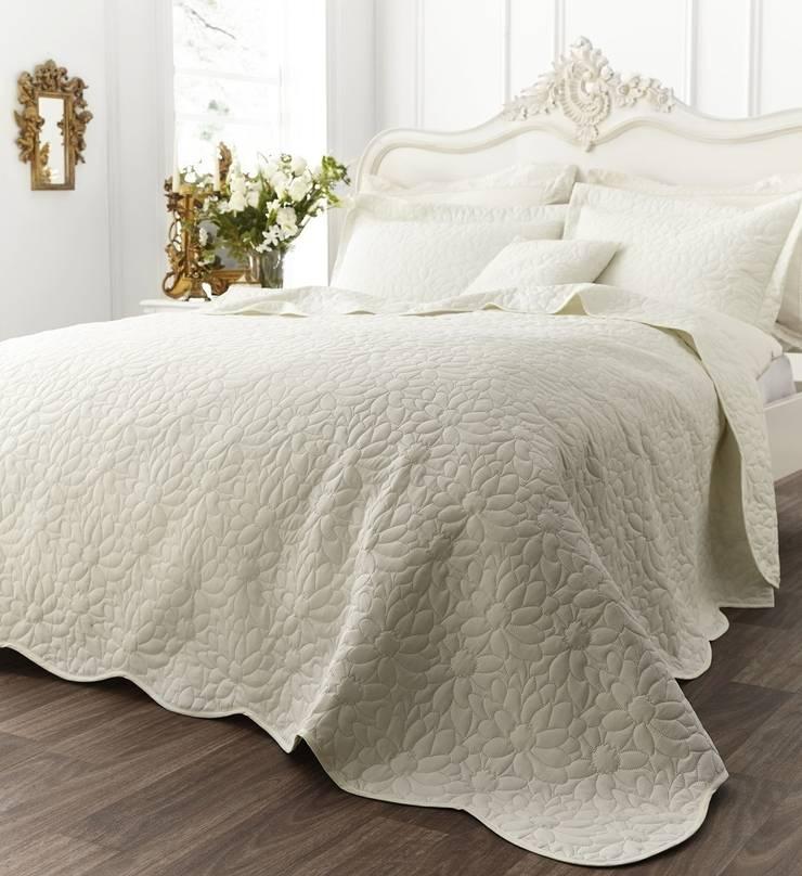 Generic Floral Cream:  Bedroom by Century Mills