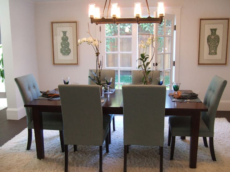 Dining Room  :  Dining room by Martin Hall Design