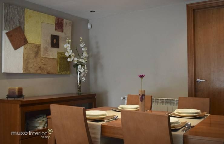 Interior Design Sant Pere de Ribes: Comedores de estilo  de muxo Studio