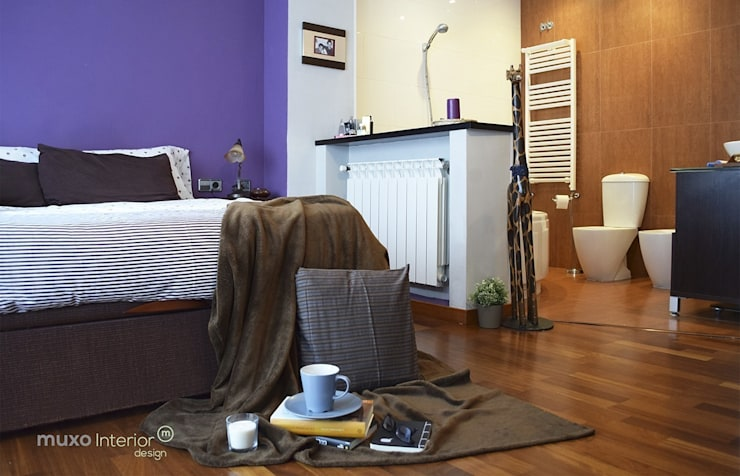 Interior Design Sant Pere de Ribes: Dormitorios de estilo  de muxo Studio