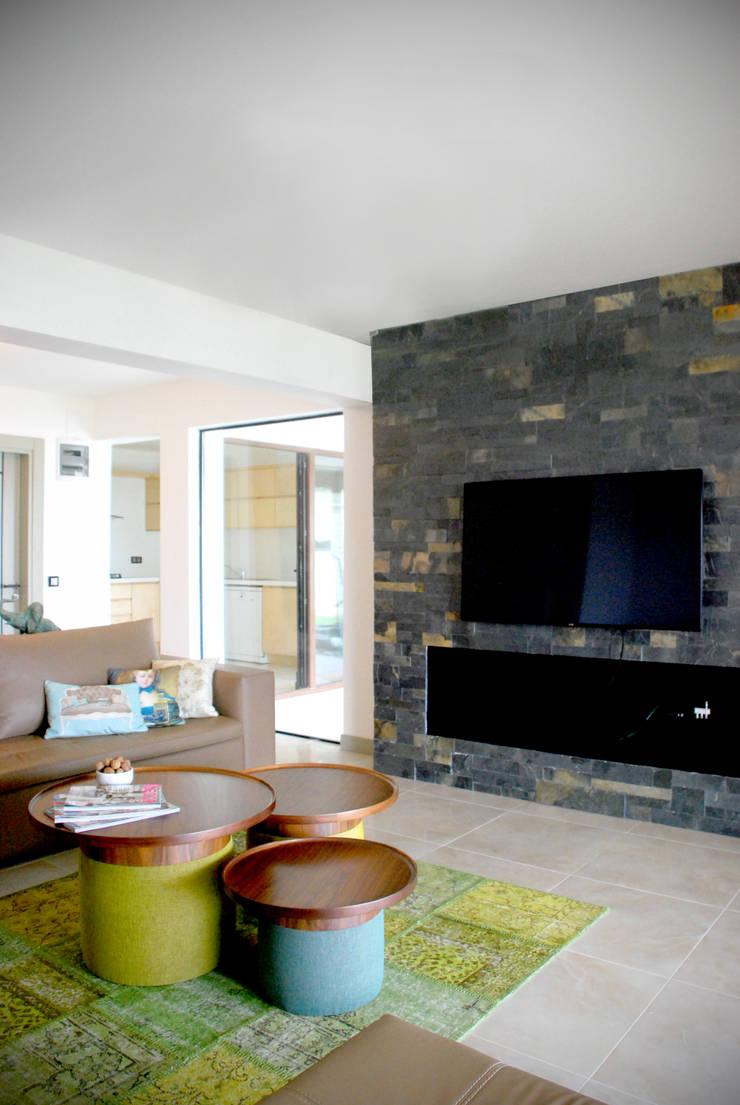 GOA / gulnar ocakdan archıtecture – HOUSE MFN   : modern tarz Oturma Odası