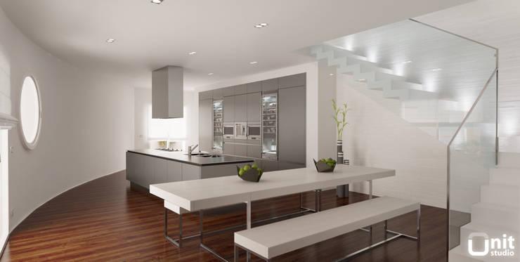 Attico - Venezia: Cucina in stile in stile Moderno di UNIT Studio