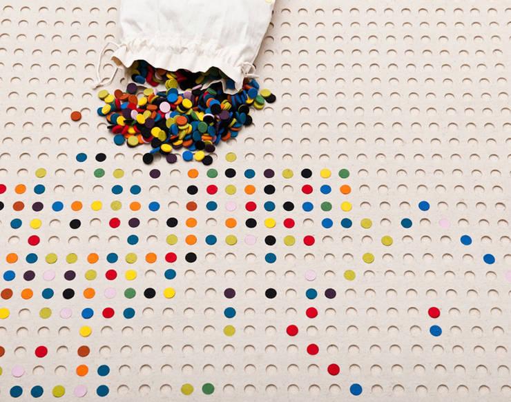 PASTYLKI: styl , w kategorii Ściany i podłogi zaprojektowany przez JOANNA RUSIN