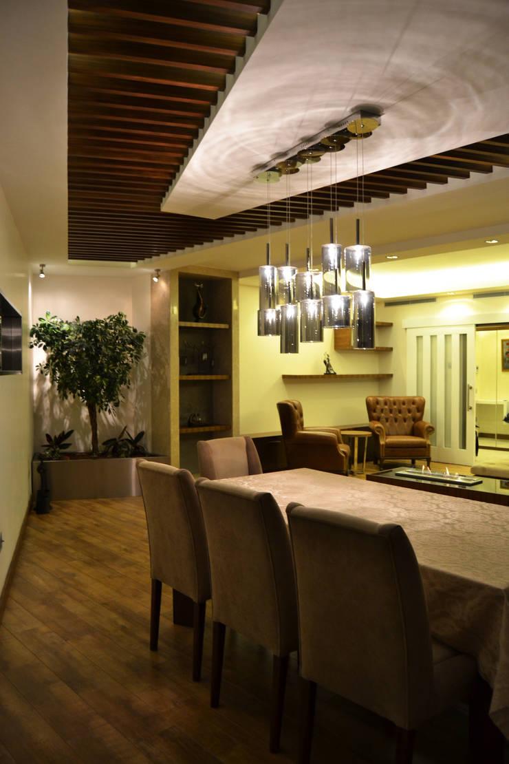 NM Mimarlık Danışmanlık İnşaat Turizm San. ve Dış Tic. Ltd. Şti. – VARYAP MERIDIAN B_40:  tarz Yemek Odası