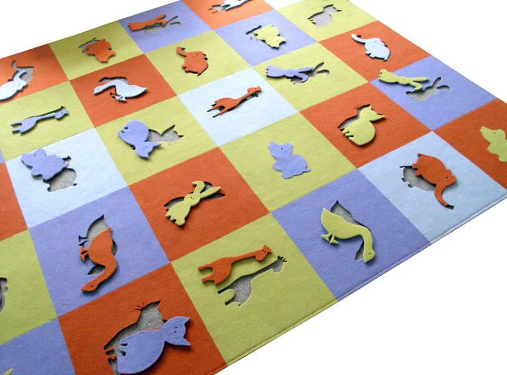 ANIMALS: styl , w kategorii Ściany i podłogi zaprojektowany przez JOANNA RUSIN