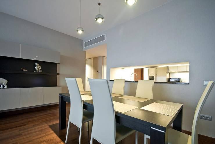 """Квартира в апартаментах """"Мариот» : Столовые комнаты в . Автор – freelancer"""