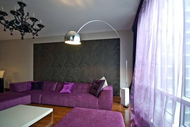 "Квартира в апартаментах ""Мариот» : Гостиная в . Автор – freelancer"