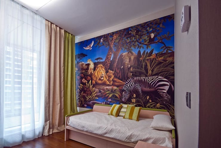 """Квартира в апартаментах """"Мариот» : Детские комнаты в . Автор – freelancer"""