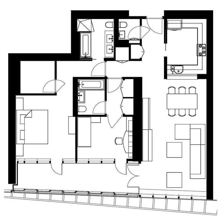 """Квартира в апартаментах """"Мариот» :  в . Автор – freelancer"""