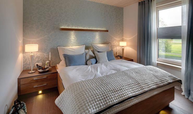 Schlafzimmer :  Schlafzimmer von Sonnleitner Holzbauwerke GmbH & Co. KG