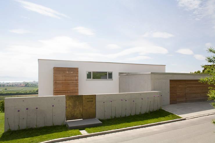 Casas de estilo moderno por GMS Freie Architekten Isny / Friedrichshafen