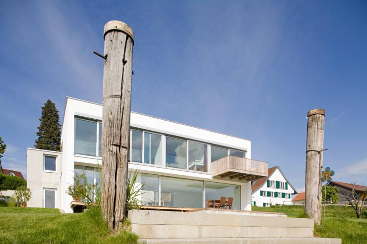Landesteg:  Garten von GMS Freie Architekten Isny / Friedrichshafen