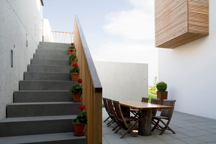 Hof3:  Garten von GMS Freie Architekten Isny / Friedrichshafen