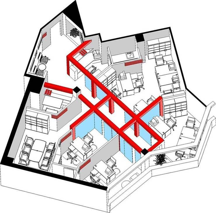 Офис комапнии <q>ГЛОРИЯ</q>: Офисные помещения в . Автор – freelancer
