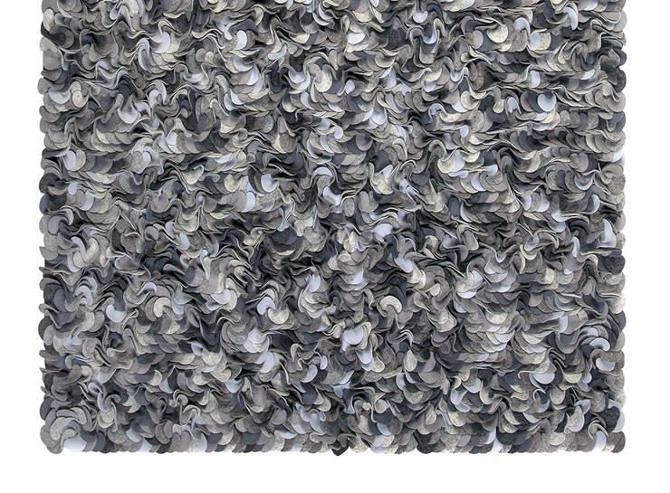 PURE: styl , w kategorii Ściany i podłogi zaprojektowany przez JOANNA RUSIN