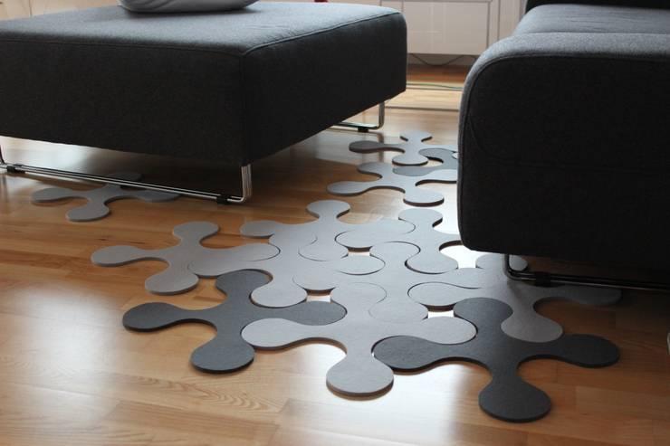 PUZZLE: styl , w kategorii Ściany i podłogi zaprojektowany przez JOANNA RUSIN