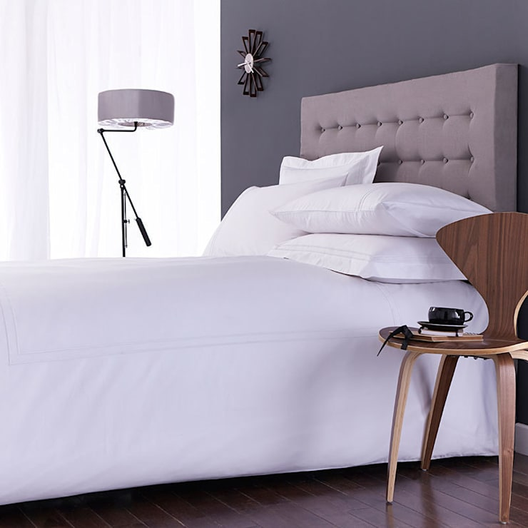 Charlotte Thomas Richmond Bed Set in White:  Bedroom by We Love Linen