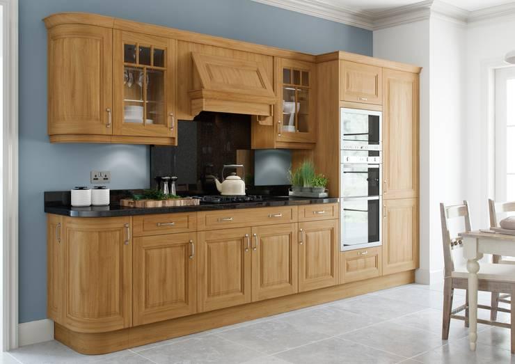 Clifton Lancaster Oak :  Kitchen by Sigma 3 Kitchens