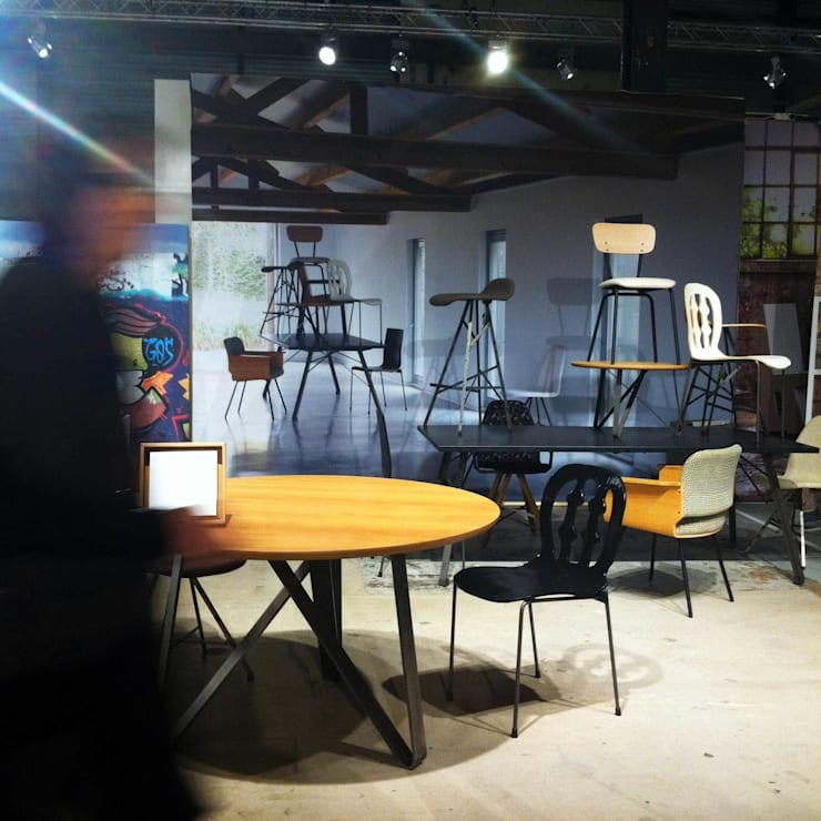 Beurspresentatie Spoinq:  Eetkamer door Marc Th. van der Voorn