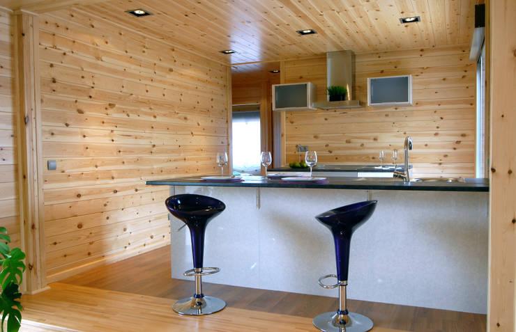 Projekty,  Kuchnia zaprojektowane przez Casas Natura