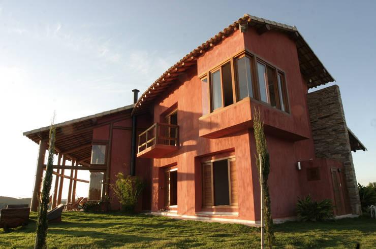 Projekty,  Domy zaprojektowane przez Mascarenhas Arquitetos Associados