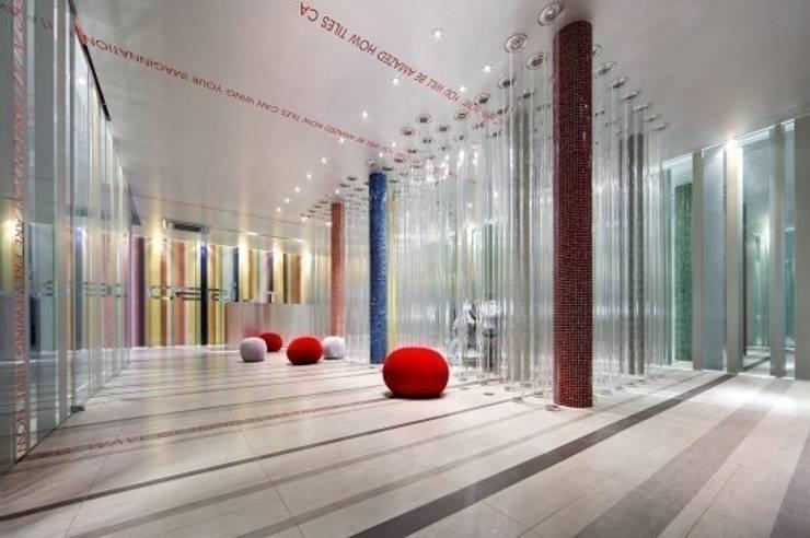 CERIUM (상아타일): Teamsmart 이호중의  상업 공간,모던