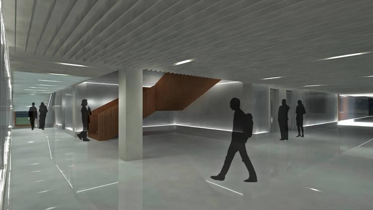 Núcleo edificio B: Edificios de oficinas de estilo  de atelier Victor Salme