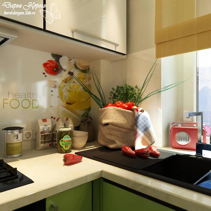 Kitchen for students Sister 2: Кухни в . Автор – Your royal design