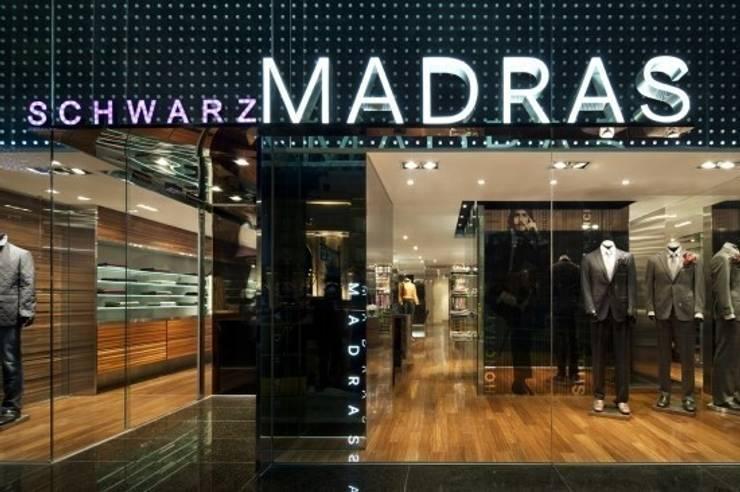 schwarzMADRAS  (청담): Teamsmart 이호중의  상업 공간