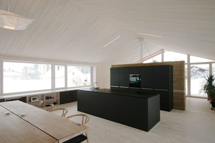 Arc Architekten Partnerschaftが手掛けたキッチン