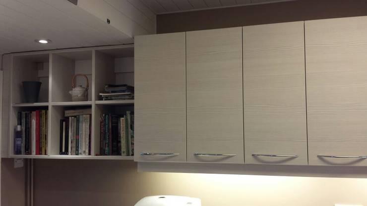 Bespoke book shelf:   by The Kitchen Makeover Shop Ltd