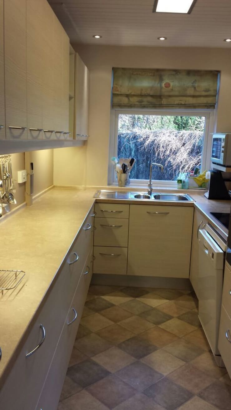 New sink and taps from the 1810 company:   by The Kitchen Makeover Shop Ltd