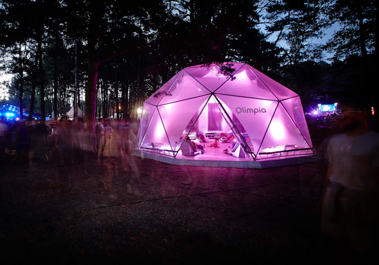 Olimpia Lounge:  Event venues by ZILBERS DESIGN