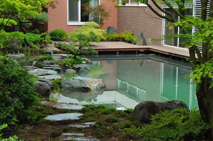 Сады в . Автор – Kokeniwa Japanische Gartengestaltung
