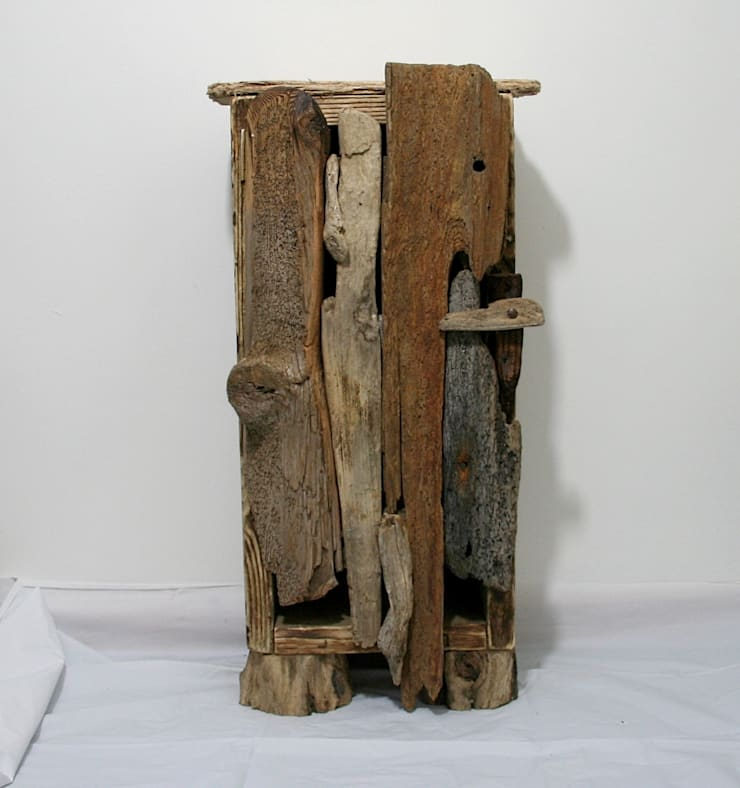 Driftwood Floor Cabinet:  Living room by Julia's Driftwood