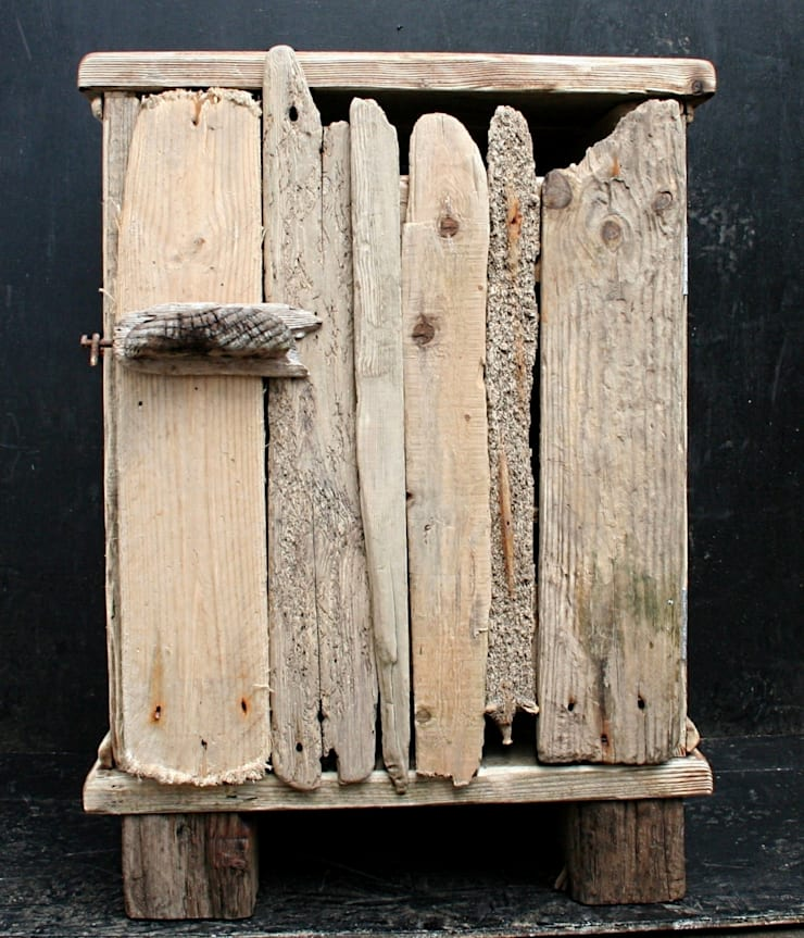 Driftwood Floor Cabinet:  Bathroom by Julia's Driftwood