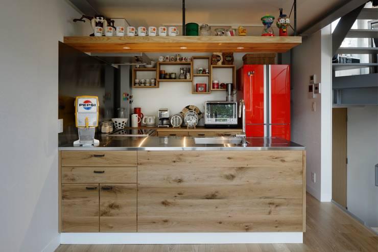 Cocinas de estilo moderno por mattch