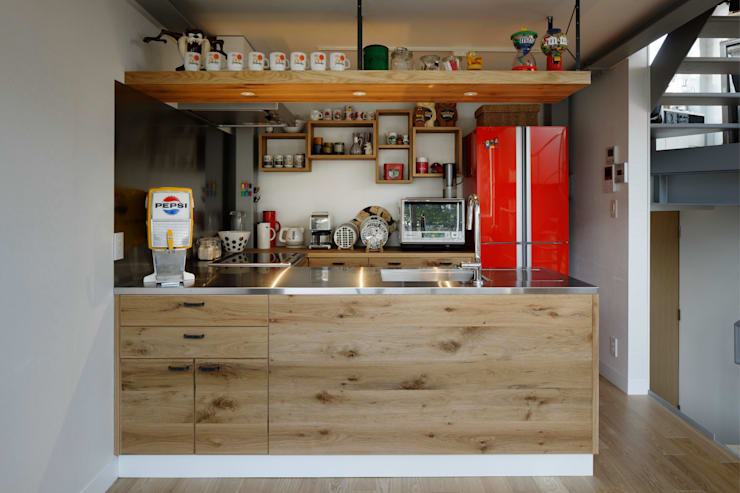 n-house: mattchが手掛けたキッチンです。