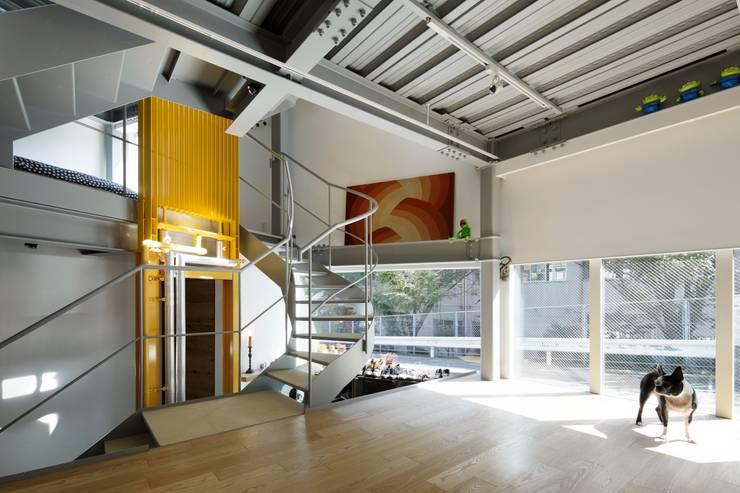 n-house: mattchが手掛けた廊下 & 玄関です。